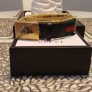 Gucci GG Bee Buckle Belt